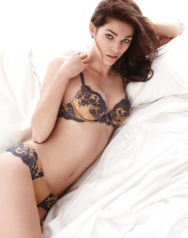 Samantha Gradoville Twin Set Fall 2015 Lingerie Campaign05
