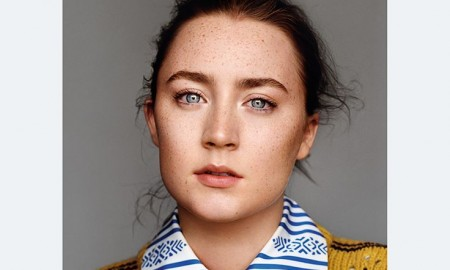 Saoirse Ronan on The Gentlewoman Fall-Winter 2015 cover
