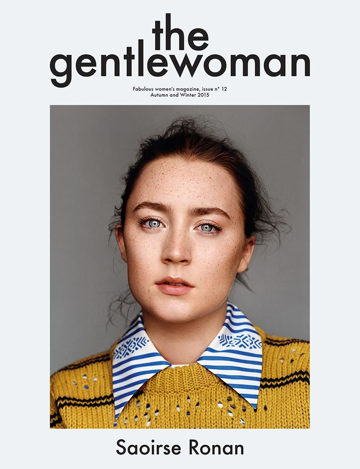 Saoirse Ronan Stars on The Gentlewoman Fall/Winter 2015 Cover