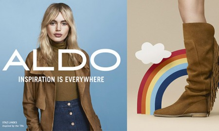 Staz Lindes for ALDO fall-winter 2015 campaign