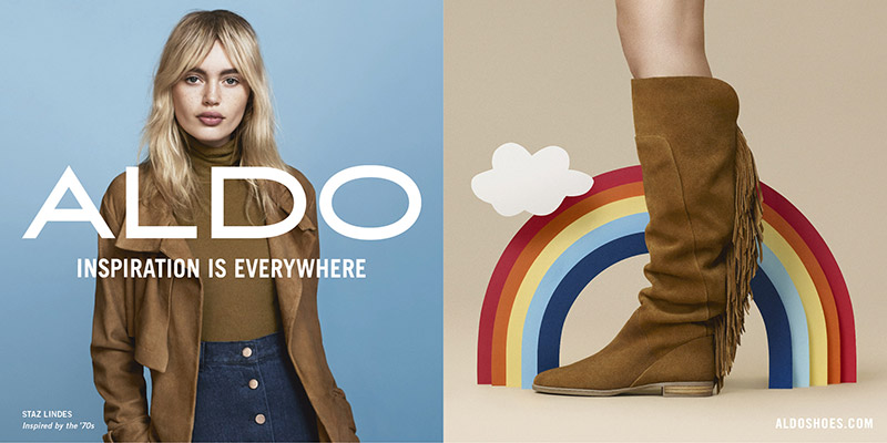 ALDO Gets Inspired with its Fall 2015 Campaign