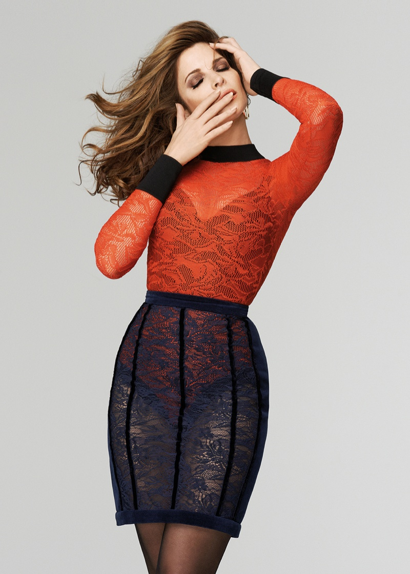 Stephanie Seymour stars in The Room's fall-winter 2015 campaign
