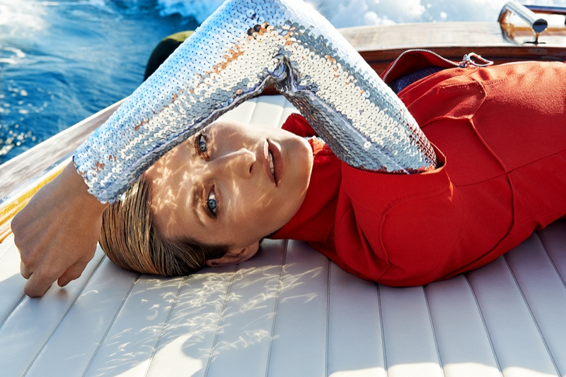 Tereza Maxova Models Dior for ELLE Czech by Branislav Simoncik