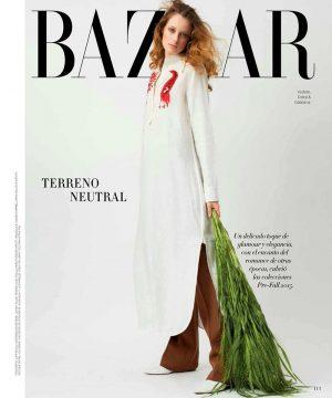 Tharine Garcia Harpers Bazaar Mexico August 2015 Cover Photoshoot02