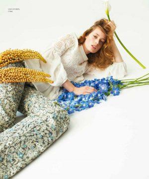 Tharine Garcia Harpers Bazaar Mexico August 2015 Cover Photoshoot08