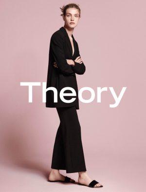 Natalia Vodianova Returns for Theory's Fall 2015 Campaign