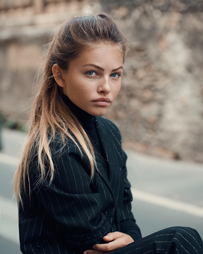 Thylane Blondeau Poses For Eric Guillemain In Teen Vogue