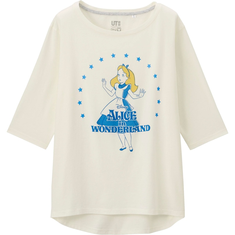 Uniqlo x Disney Alice in Wonderland T-Shirt available for $19.90
