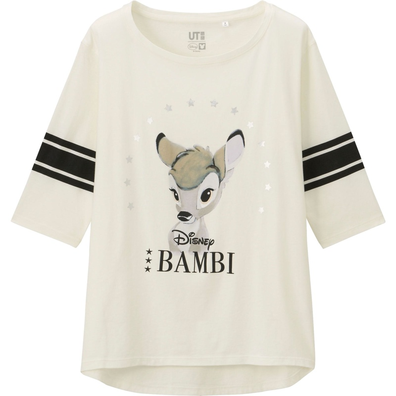 Uniqlo x Disney Bambi T-Shirt available for $19.90