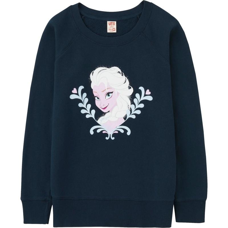 Uniqlo x Disney 'Frozen' Elsa Sweatshirt available for $34.90