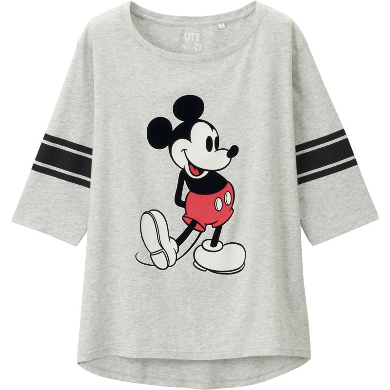 Uniqlo x Disney Mickey Mouse T-Shirt available for $19.90