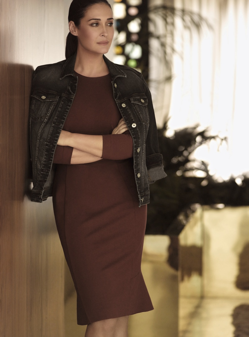 Vicky Martin Berrocal Returns for Violeta by Mango's Fall 2015 Campaign