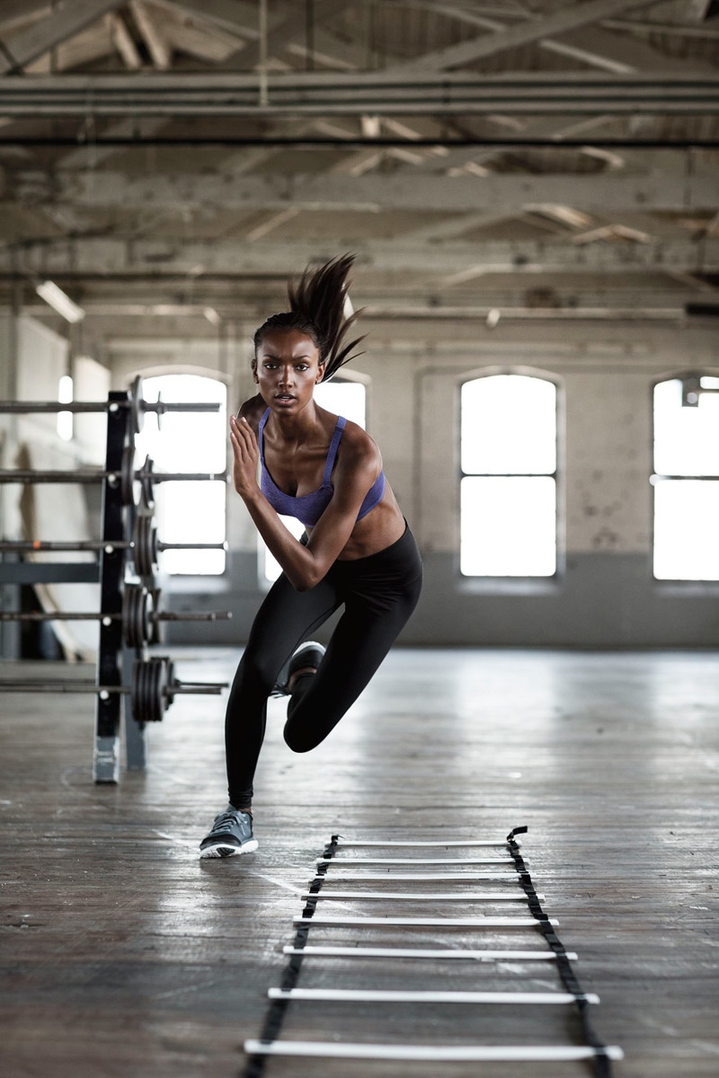 Jasmine Tookes for Victoria's Secret Sport