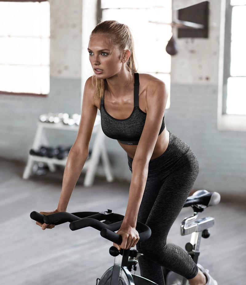 Romee Strijd for Victoria's Secret Sport