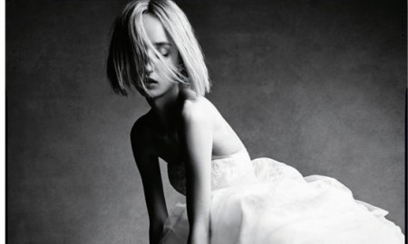 Alexa Yuryeva stars in White by Vera Wang fall 2015 campaign
