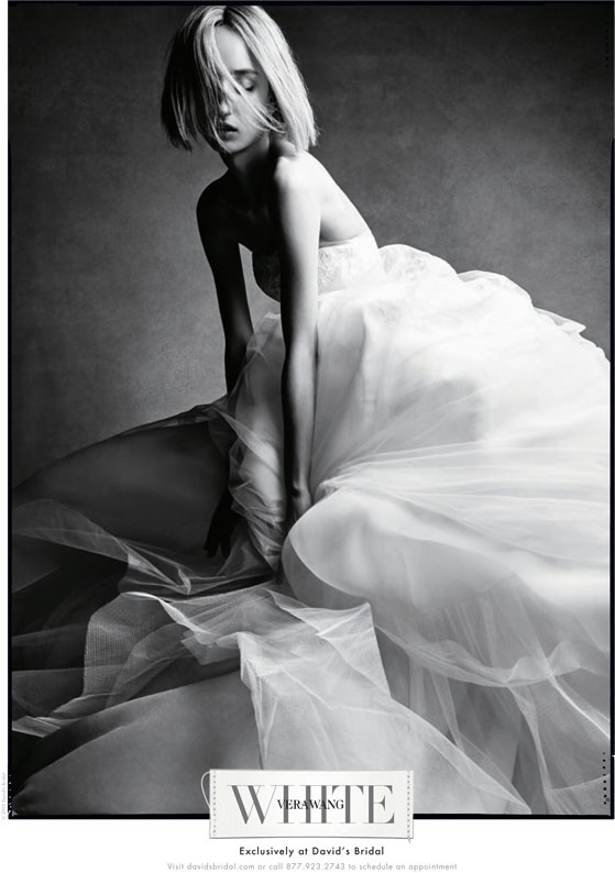 See the White by Vera Wang Fall 2015 Bridal Campaign