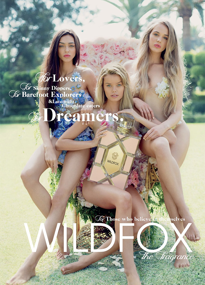 Wildfox Fragrance Ad Campaign