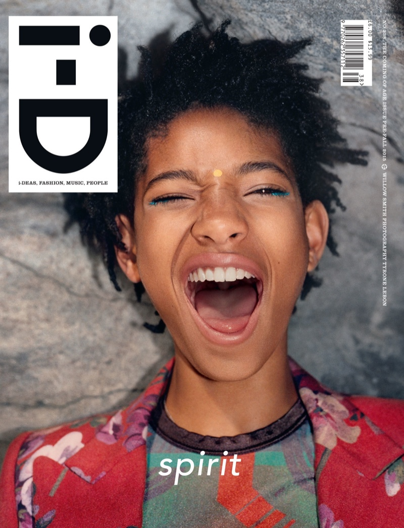 Willow Smith on i-D Pre-Fall 2015 cover