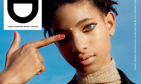 Willow Smith on i-D Magazine Pre-Fall 2015 cover