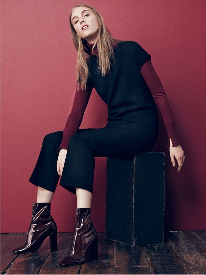 Zara takes on mod style with a simple silhouette