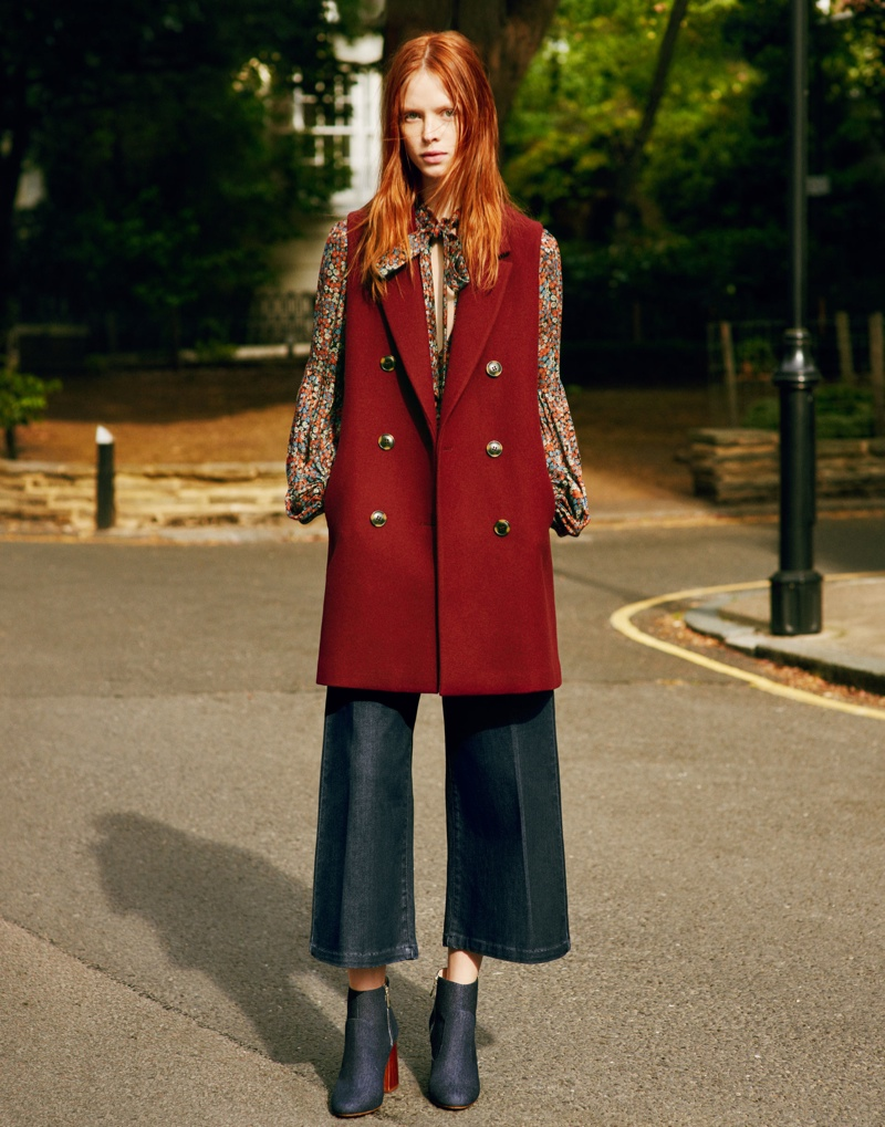 Zara TRF Embraces Oversized Style for Fall 2015 Ads