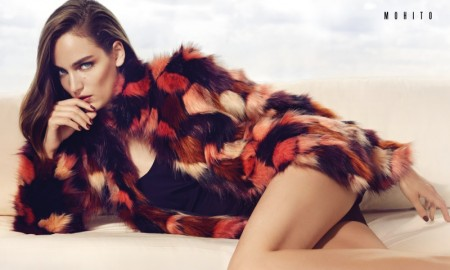 Zuzanna Bijoch stars in Mohito's fall-winter 2015 campaign