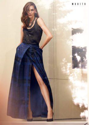Zuzanna Bijoch Gets Glam in Mohito's Fall 2015 Campaign
