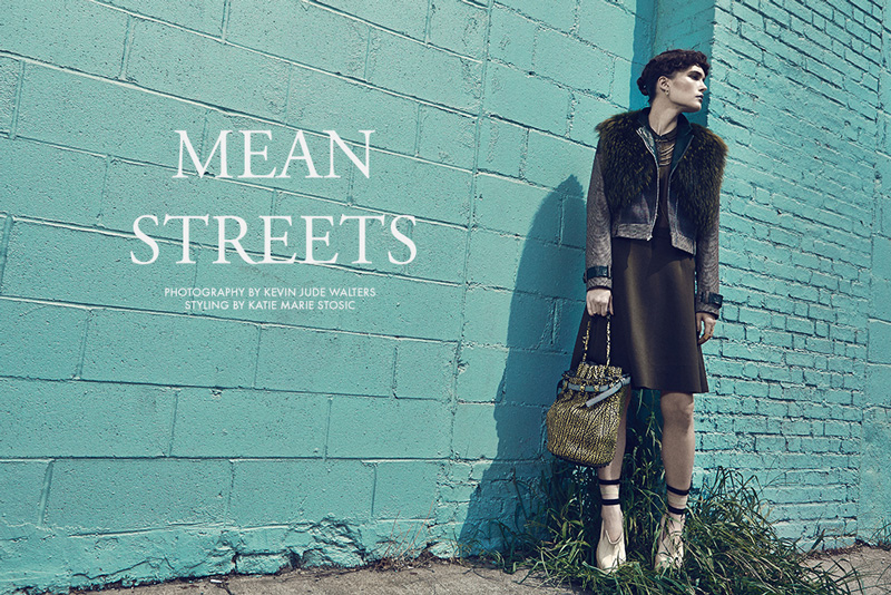 Katharine Mackel by Kevin Jude Walters in 'Mean Streets'