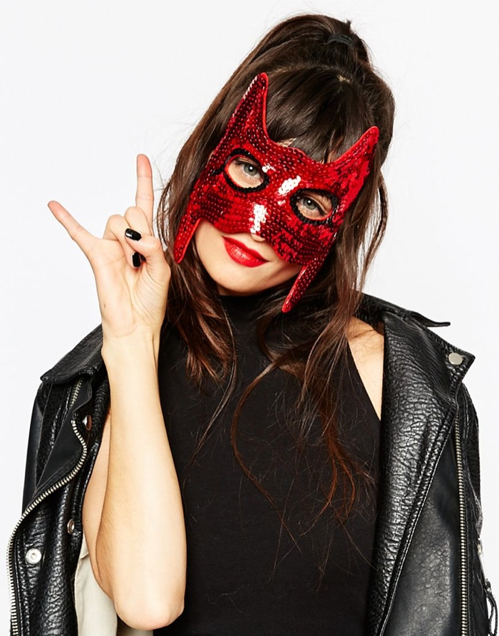 ASOS Halloween Devil Mask available for $14.50