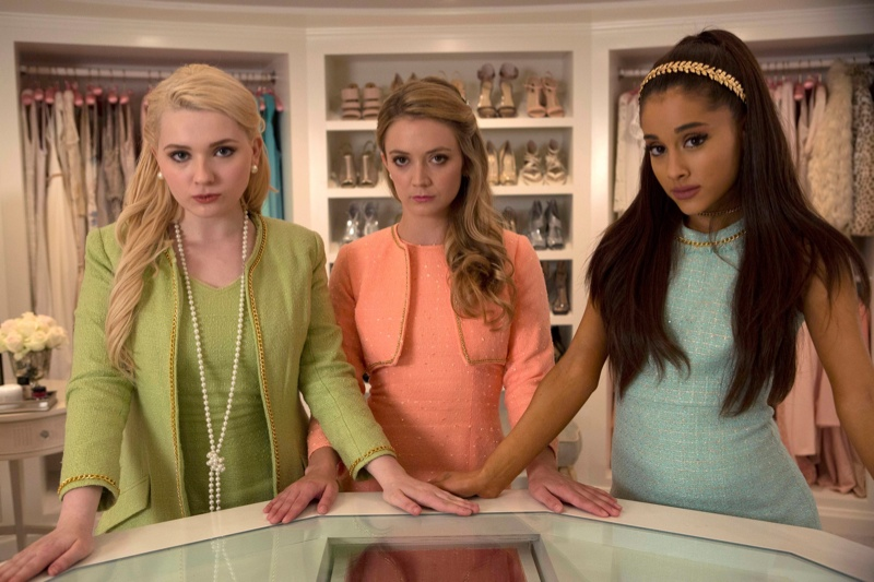 Scream Queens Premiere Photos Emma Roberts Jamie Lee Curtis More Stars Fashion Gone Rogue