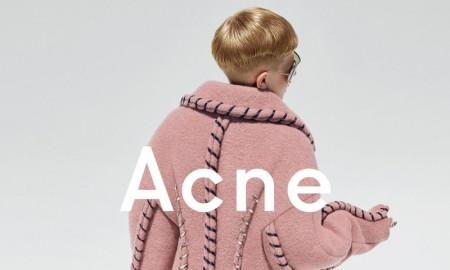 12-year-old Frasse Johansson stars in Acne Studios fall-winter 2015 campaign