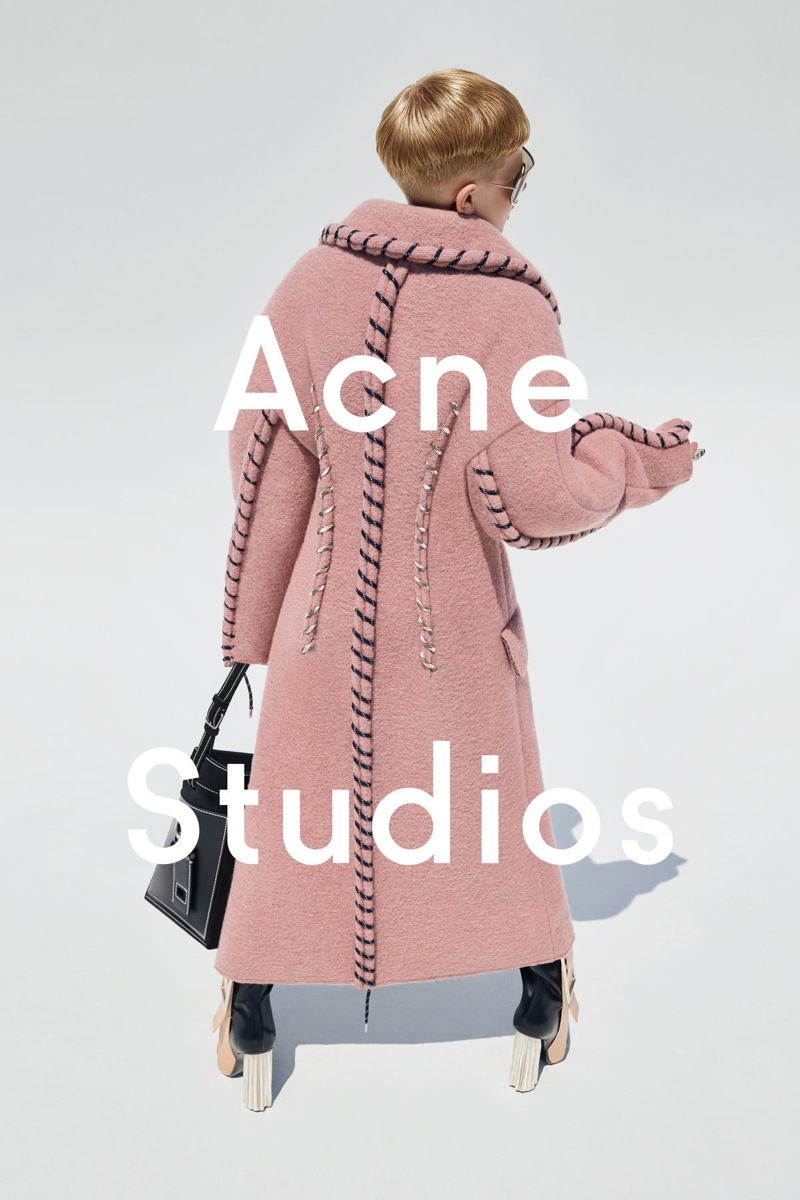 Acne Studios Designer Casts 12-Year-Old Son in Fall Women's Campaign
