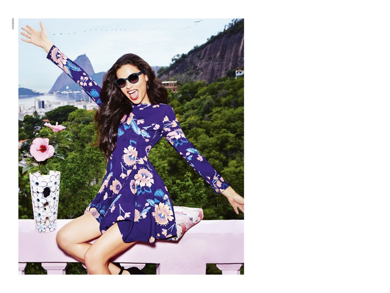 b71b20dbbb1 Adriana poses for Ellen Von Unwerth in Rio de Janeiro for the advertisements