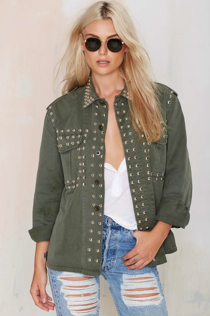 After Party Vintage Army Jacket