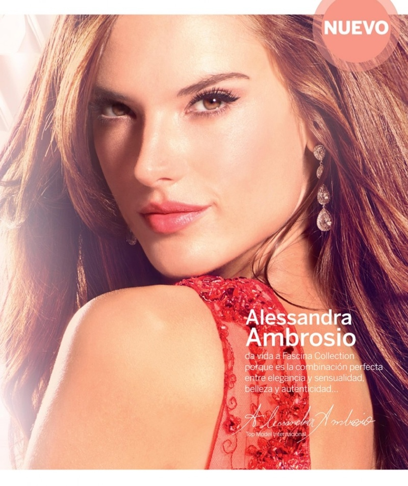 Alessandra Ambrosio is...