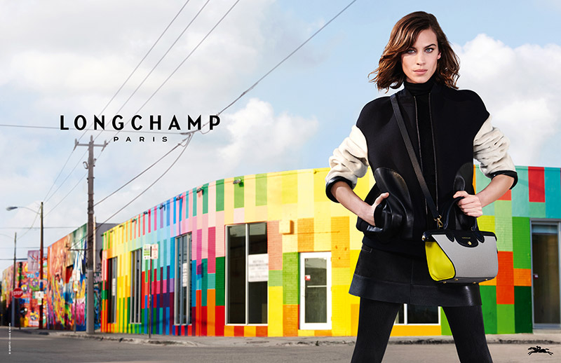 Alexa Chung Heads to Miami for Longchamp's Latest