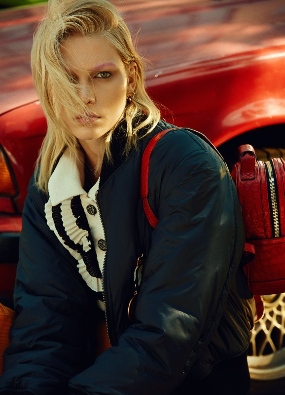 Aline Weber Goes Back to School for Modern Weekly China by Shxpir
