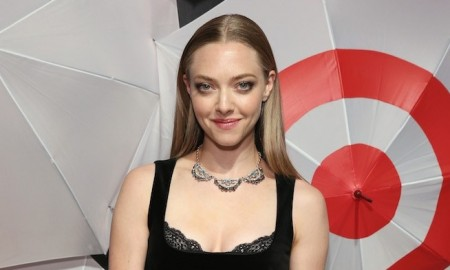 Amanda Seyfried wore a little black dress