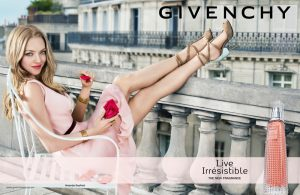 Amanda Seyfried Kicks Up Her Heels for New Givenchy Fragrance Ad