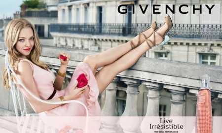 Amanda Seyfried stars in Givenchy Live Irrésistible fragrance campaign