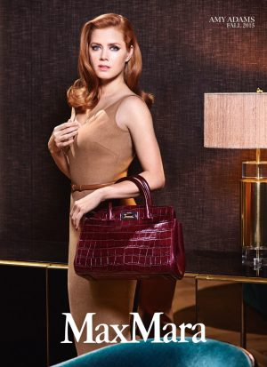 Amy Adams Goes Hollywood for Max Mara Accessories
