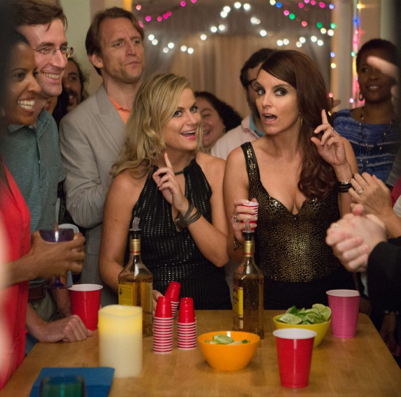 Amy Poehler and Tina Fey in Sisters. Photo: Universal Pictures