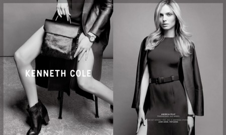 Andreja Pejic stars in Kenneth Cole's fall-winter 2015 campaign