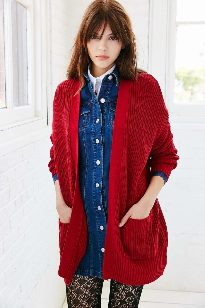 BDG Parker Oversized Cardigan available for $59.00