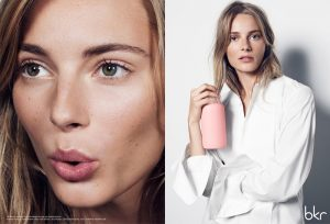 Ieva Laguna Fronts BKR Water Bottle 2015 Campaign
