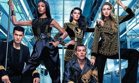 Balmain x H&M campaign image