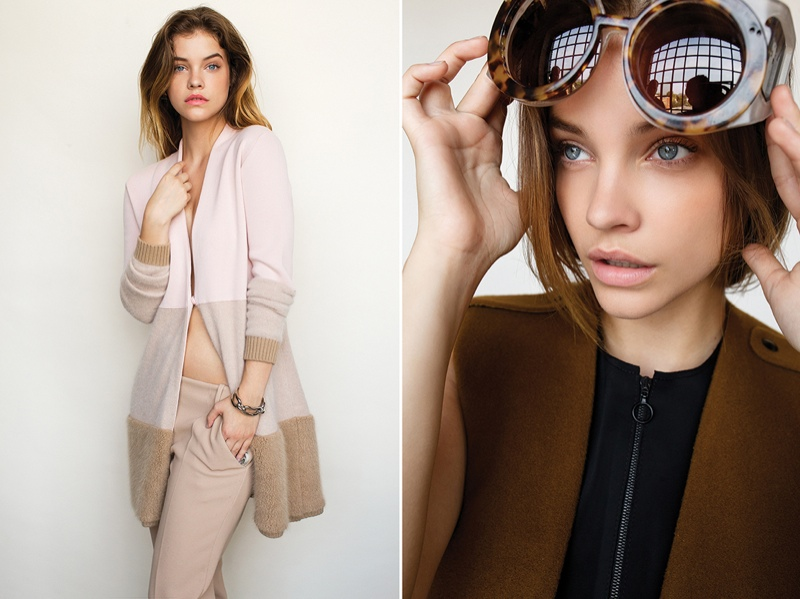 Barbara Palvin Wears Fall Style in ELLE Hungary by Krisztián Éder