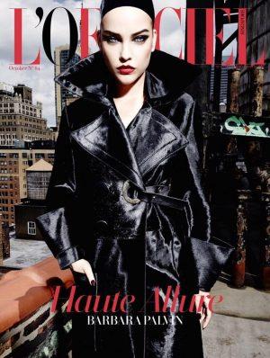 Barbara Palvin Gets Vampy on L'Officiel Singapore Cover