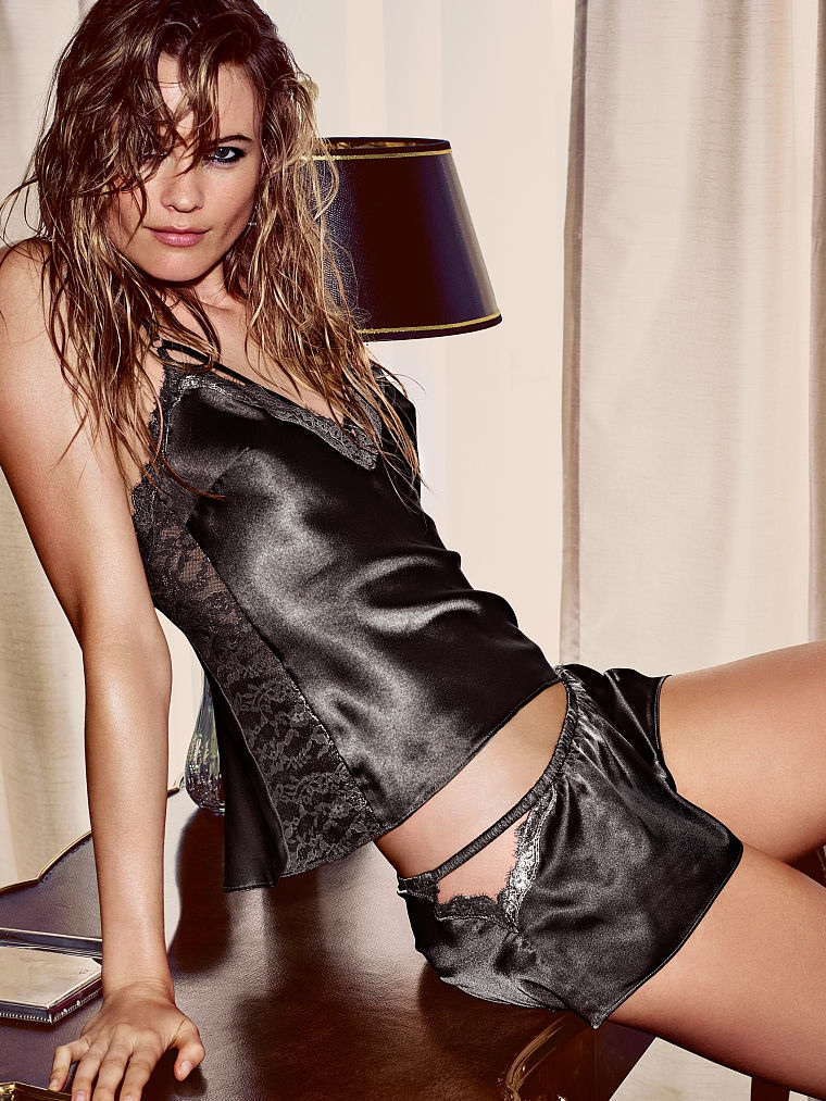 Rock On: Behati Prinsloo Gets Edgy For Victoria`s Secret Photos