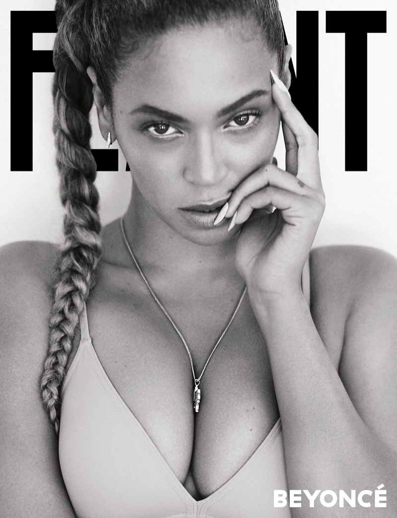 Beyonce on Flaunt Magazine cover